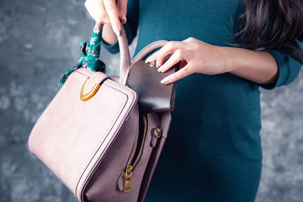 modny portfel damski z grawerem